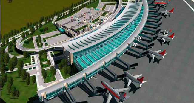 Havalimanına Kore-Danimarka ilgisi