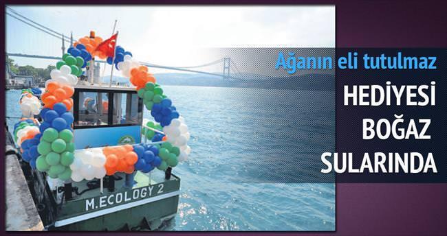 Ağaoğlu'nun teknesi Boğaz'ı temizleyecek