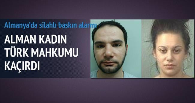 Alman kadın suç ortağı Türk mahkûmu kaçı