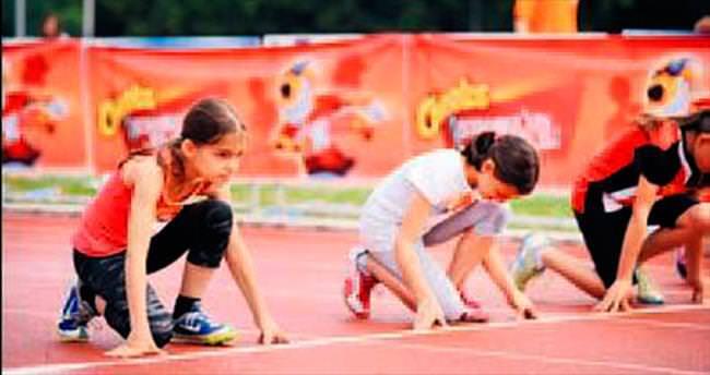 Geleceğin atletleri İstanbul'da yarışacak