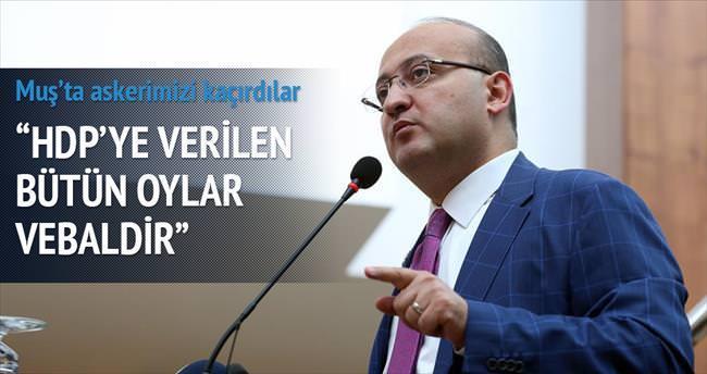 HDP'ye verilen oylar vebaldir