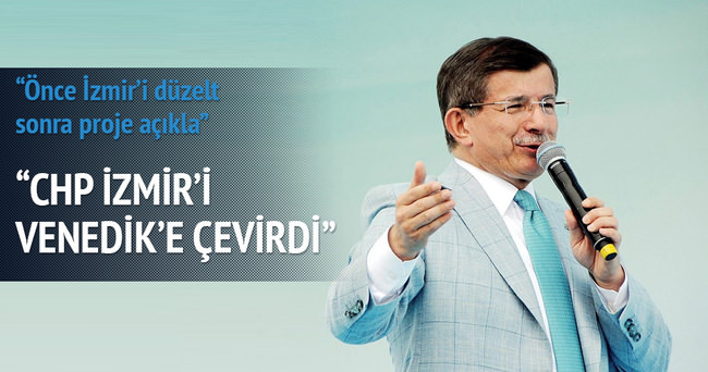 CHP İzmir'i Venedik'e çevirdi