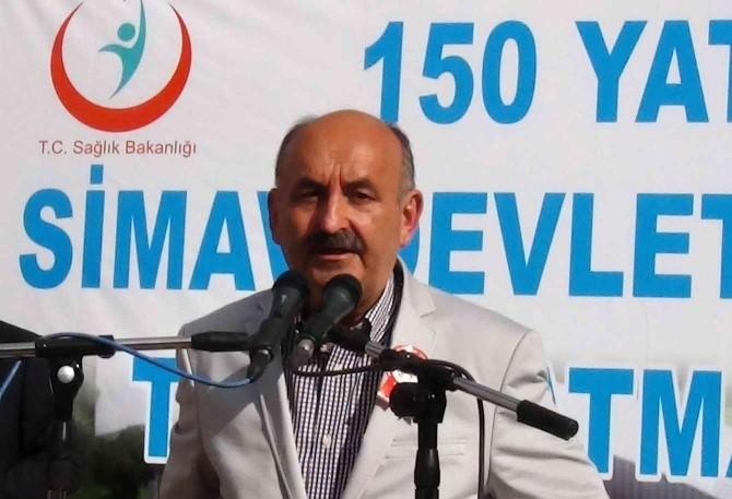Simav Devlet Hastanesi'nin Temelini Bakan Mehmet Müezzinoğlu Attı