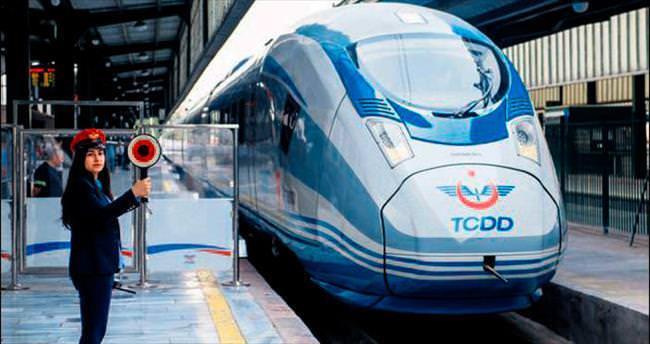 Çok Yüksek Hızlı Tren sefere başladı