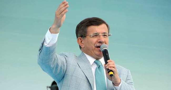 Başbakan Davutoğlu: İzmir'de tarihi adım atacağız