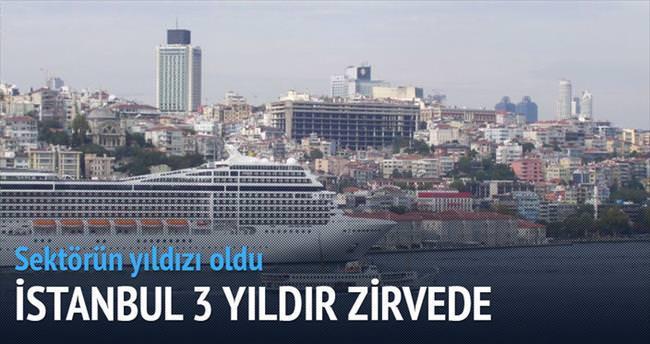 Cruise'da İstanbul 3 yıldır birinci