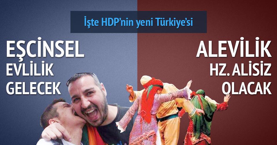 HDP'nin isteği aykırı Türkiye