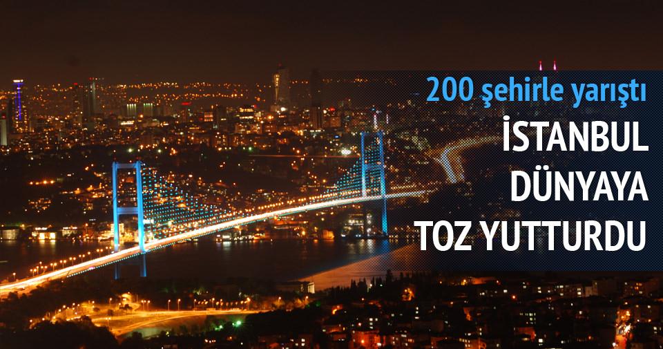 İstanbul dünyanın en çok gelişen şehri