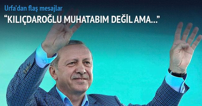Erdoğan: Bunların vicdanları nasır tutmuş