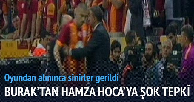 Burak Yılmaz'dan Hamza Hamzaoğlu'na şok tepki