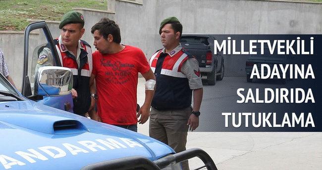 AK Partili adaya saldıran zanlılardan biri tutuklandı
