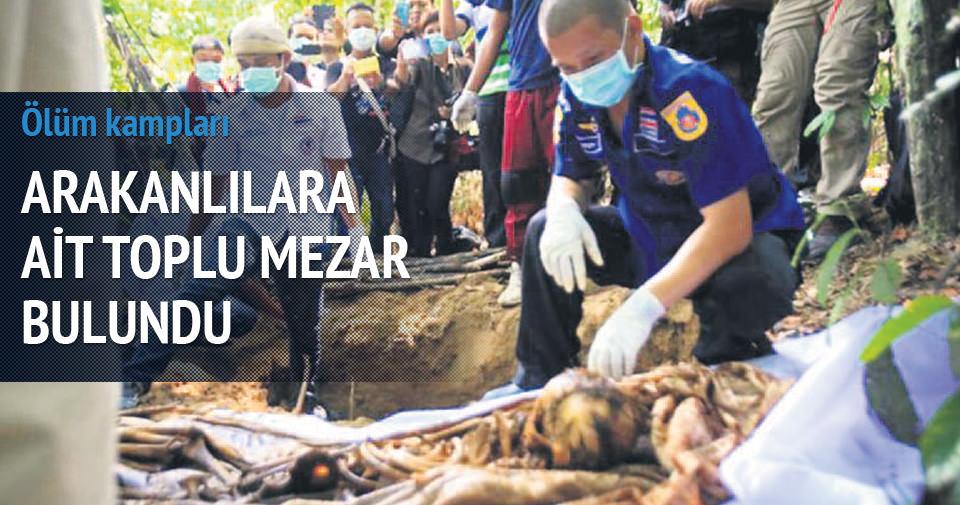 MALEZYA'DA TOPLU MEZARLAR BULUNDU