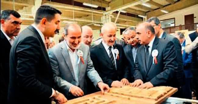 Kazan'a cami süsleme fabrikası