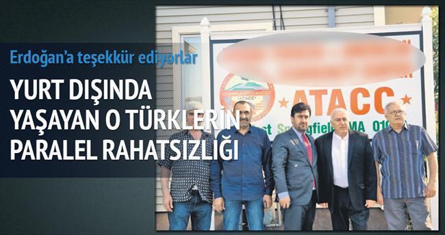 Ahıska Türkleri'nin Paralel rahatsızlığı