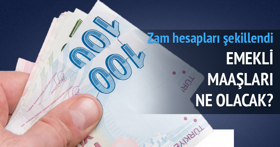 En düşük emekli maaşına 130 lira zam