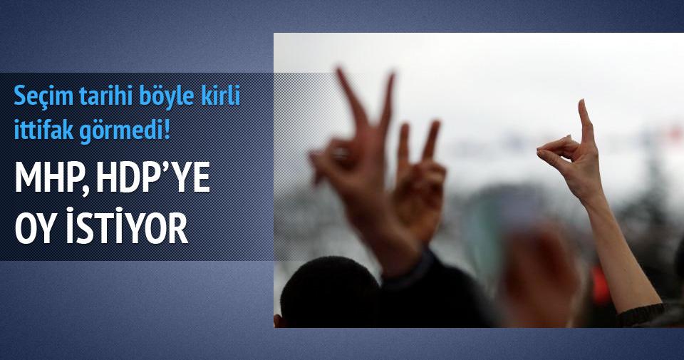 'MHP, HDP'ye oy istiyor, görüntüsü de var'