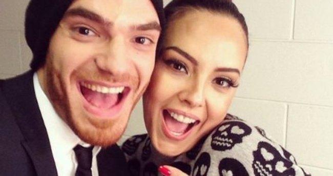 Ebru Gündeş Eurovision'u kazanamayan Elnur'a destek oldu