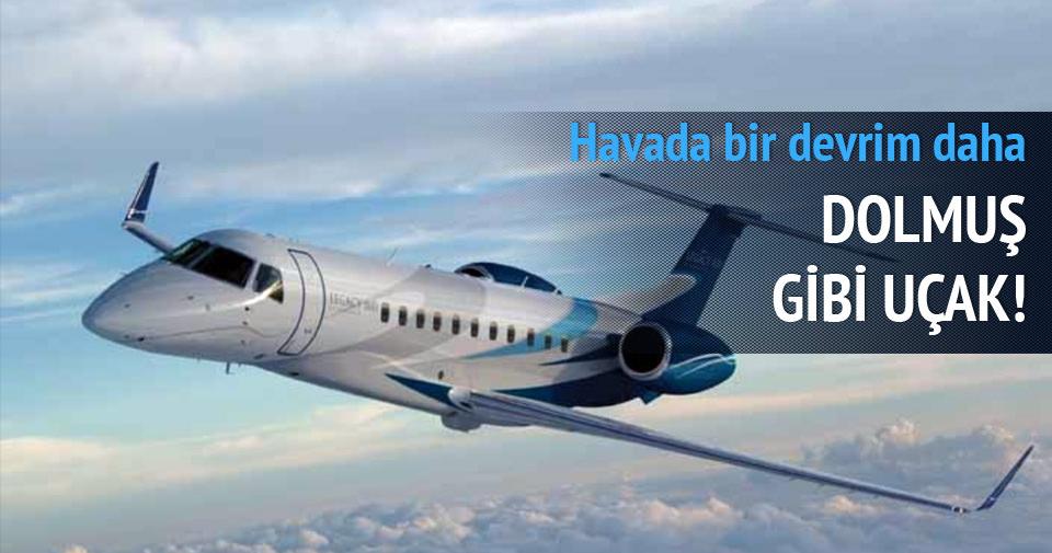 Milli uçağımız dolmuş gibi çalışacak