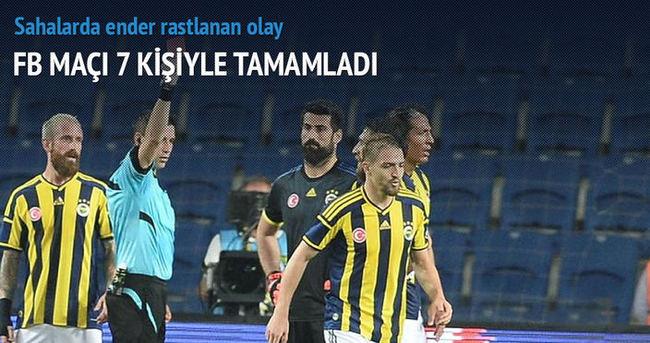 Fenerbahçe'ye 4 kırmızı kart