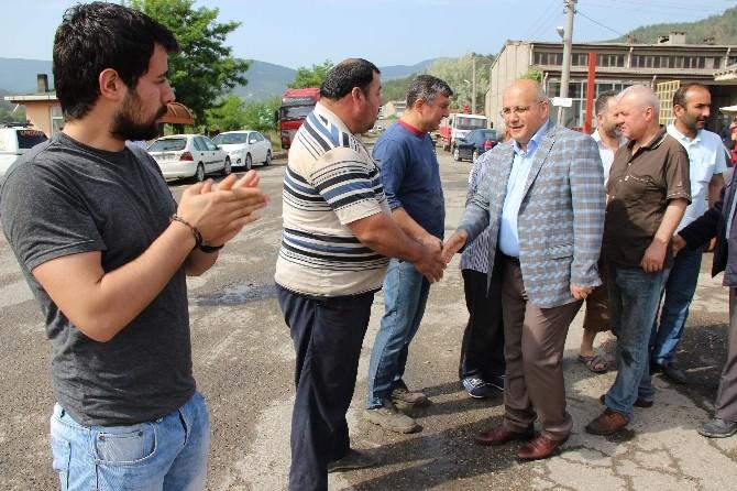 Sedat Namal Sanayi Esnafı İle Duada Buluştu
