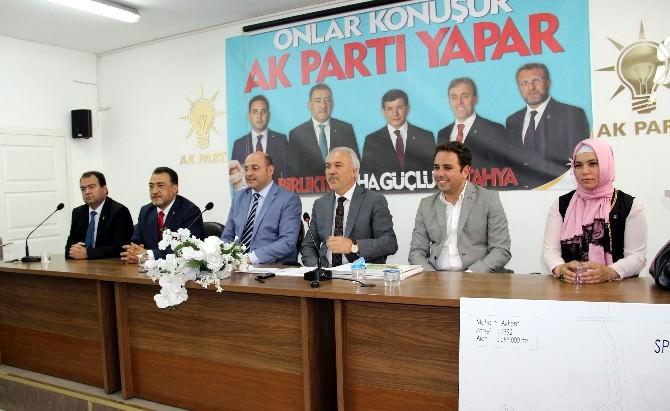 Ali Çetinbaş: AK Parti, Siyasette Ahlakın, Edebin Ve Hayanın Dile Olmuştur