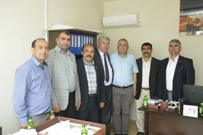 Kapaklı Belediye Başkanı Mandalı'dan Muhtarlara Ziyaret