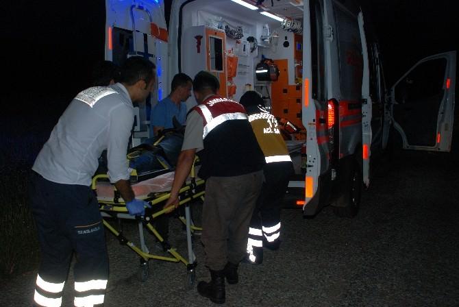 Bayramiç'te Kaza; 1 Yaralı