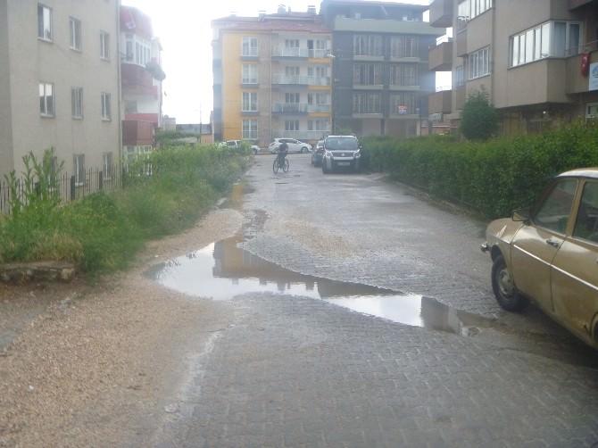 Bilecik'te Yağmur Serinletti