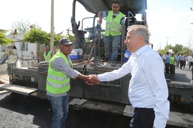 Başkan Zolan, Güney İlçesini Ziyaret Etti