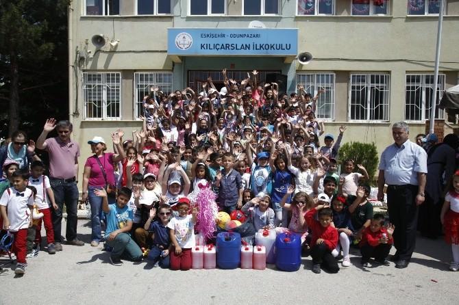 Odunpazarı'nın Okullar Arası Atık Yağ Toplama Kampanyası