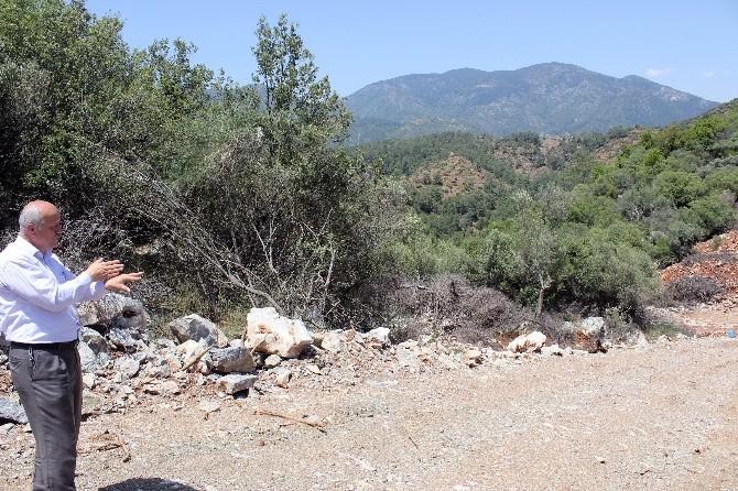 Fethiye'de 'Taş Ocağı' Rahatsızlığı