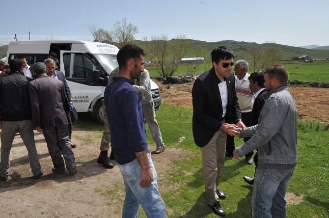 Kurum Amirleri Kıraç Köyünde Toplandı