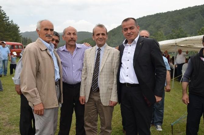 MHP Bursa Milletvekili Adayı Topçu, Orhaneli'de Köy Hayırlarına Katıldı