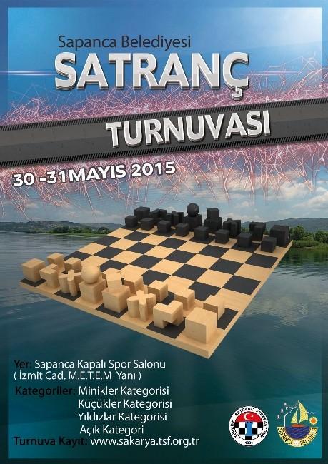 Sapanca Belediyesi Satranç Turnuvası Yapılacak
