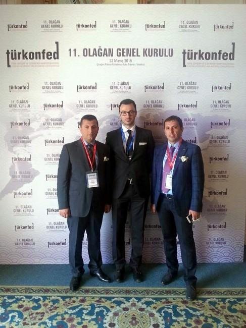 Tsiad Yönetim Kurulu Başkanı Hasan Kamil Hayali, Turkonfed Başkan Yardımcılığı'na Seçildi