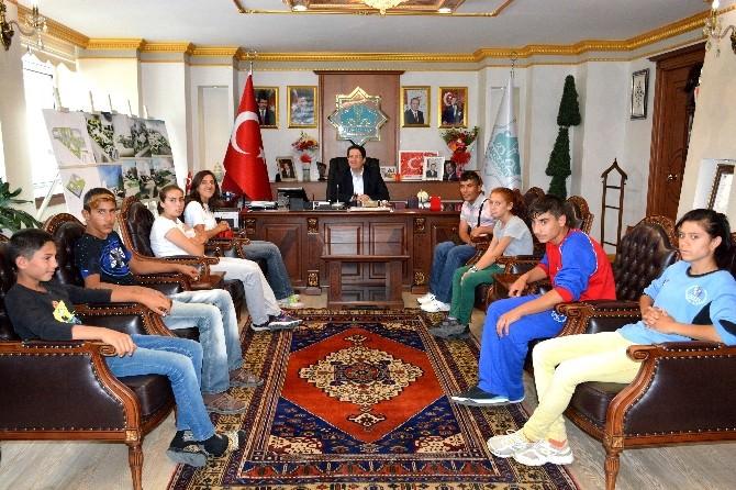 Balıkesirli Sporculardan Başkan Yazgı'ya Ziyaret
