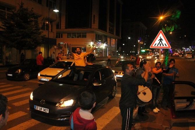 Zonguldak'ta Galatasaray Coşkusu