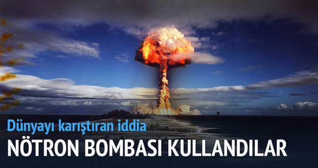 Yemen'e nötron bombaları atıldı