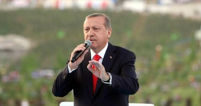 Erdoğan: Herkesi aynı torbaya koymayacağız