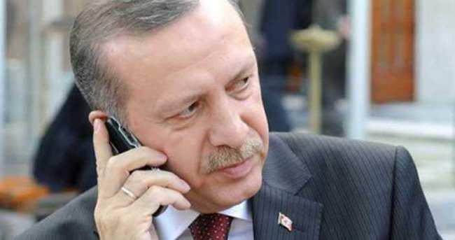 Erdoğan'dan o gazeteciye geçmiş olsun telefonu