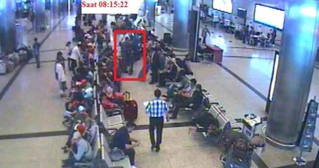 Havalimanı hırsızları kamerada