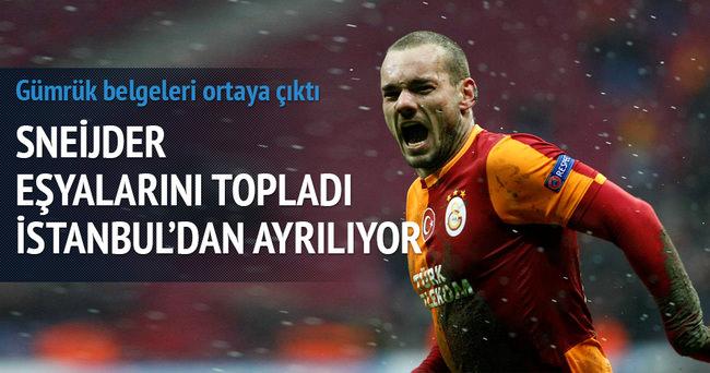 Sneijder hakkında sarsıcı iddia!