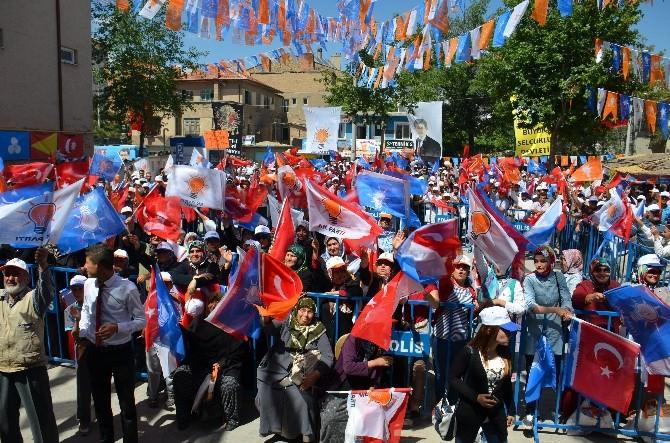AK Parti Grup Başkanvekili Ünal Konya'da İlçe Mitinglerine Katıldı