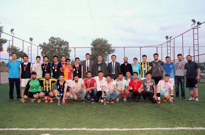 Gediz MYO Bahar Dönemi Futbol Turnuvası Sona Erdi