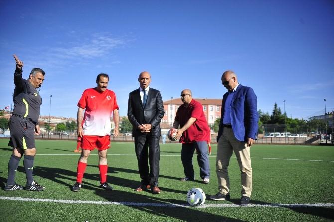 Karaman'da Kurumlar Arası Futbol Turnuvası