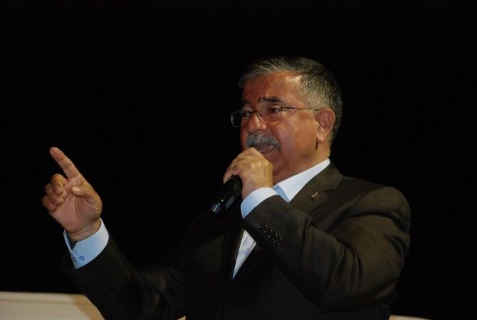 """Bakan Yılmaz: AK Parti Varsa Barış Süreci Var"""""""