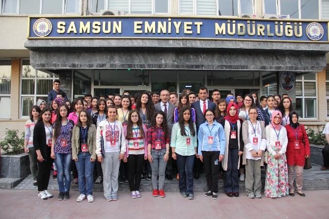 Samsun Emniyet Müdürlüğü 80 Öğrenciyi Çanakkale Gezisine Gönderdi