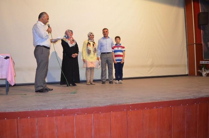 Sorgun'da Ufka Yolculuk Yarışması Ödül Töreni Yapıldı