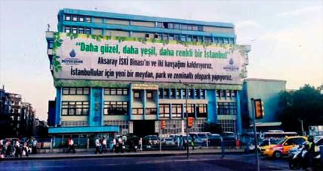 İSKİ binası yeşil alan oluyor