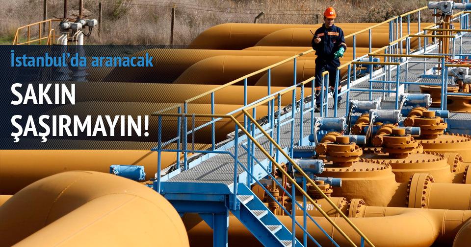 İstanbul'da petrol arayacaklar